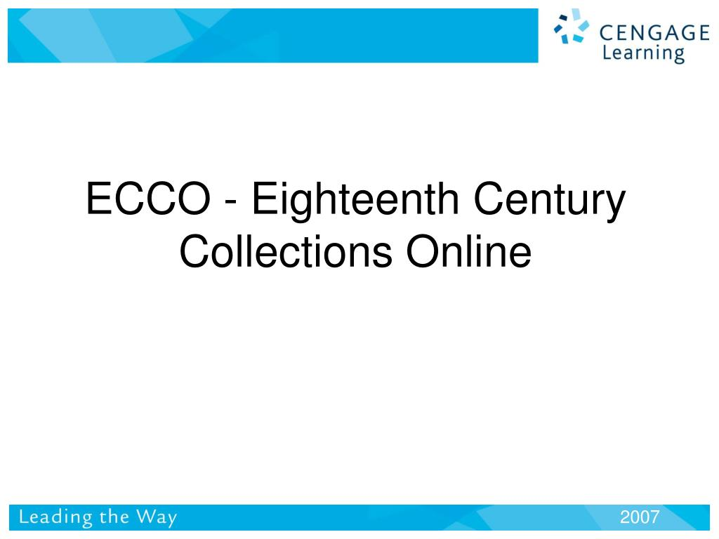 ecco eighteenth century collections online l.