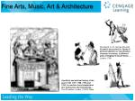 fine arts music art architecture17