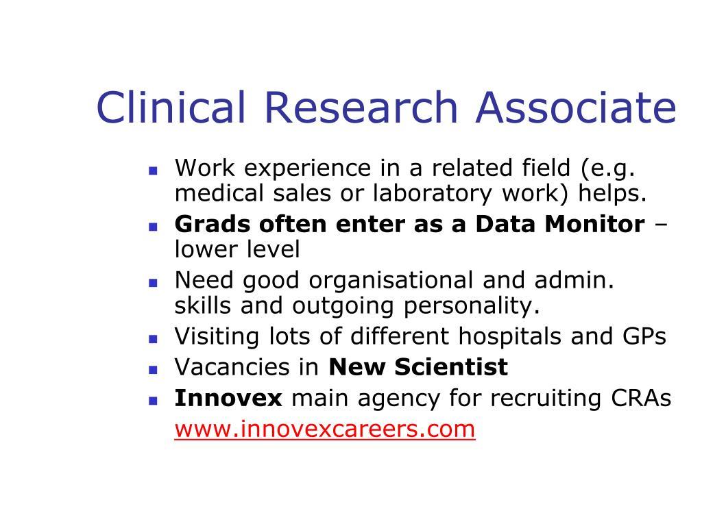 Clinical Research Associate