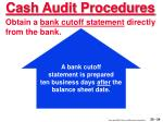 cash audit procedures24