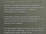 competition and innovation 2