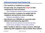 diffusion based load balancing33