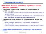 theoretical results 2