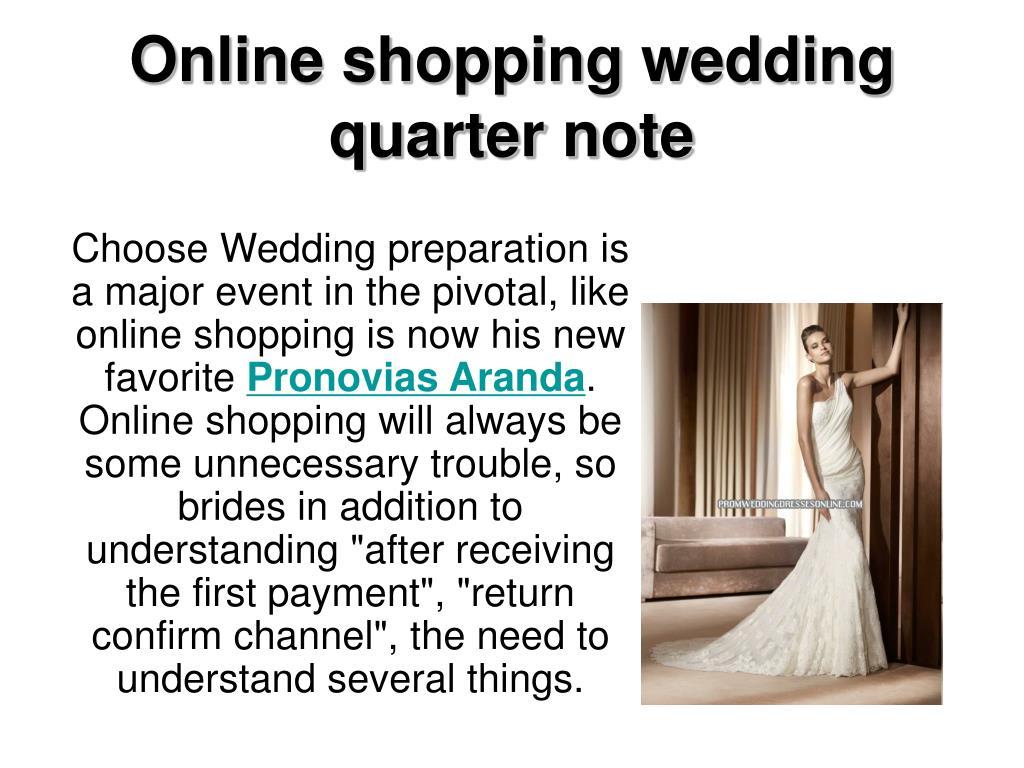 online shopping wedding quarter note l.
