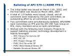 balloting of api 579 1 asme ffs 1