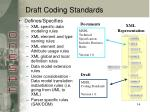 draft coding standards