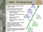 msdl the study group