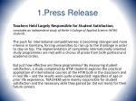 1 press release