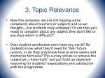 3 topic relevance16