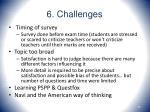 6 challenges49