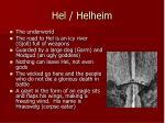 hel helheim