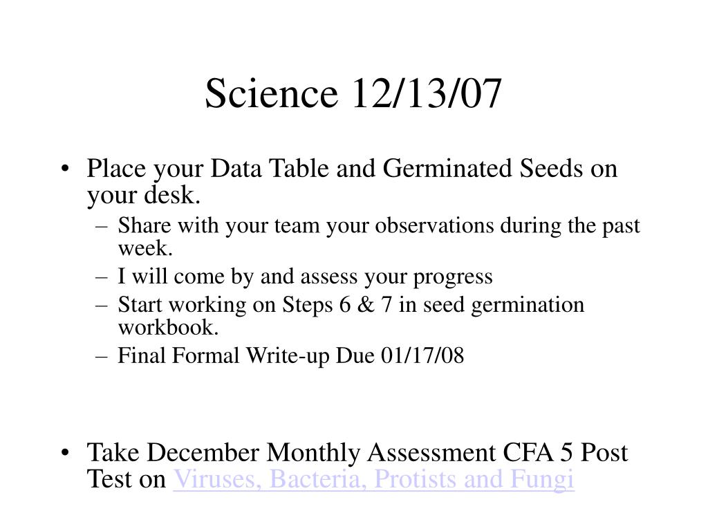 Science 12/13/07
