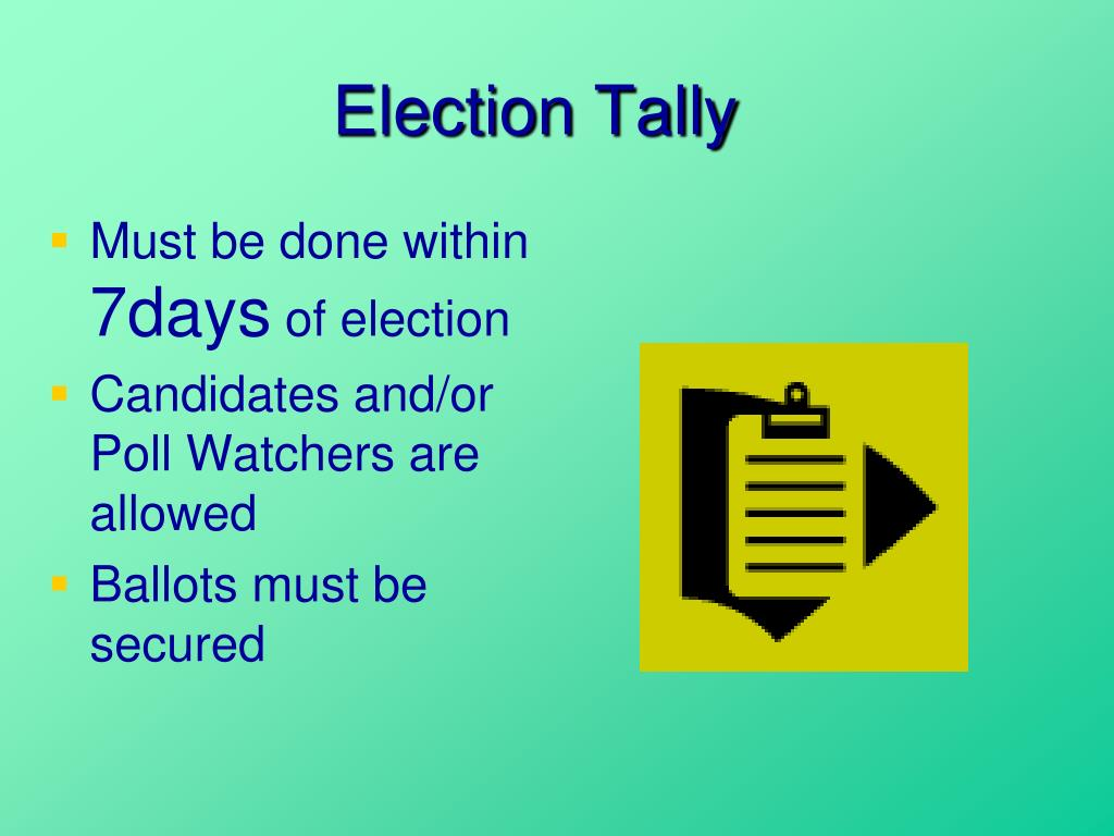 Election Tally