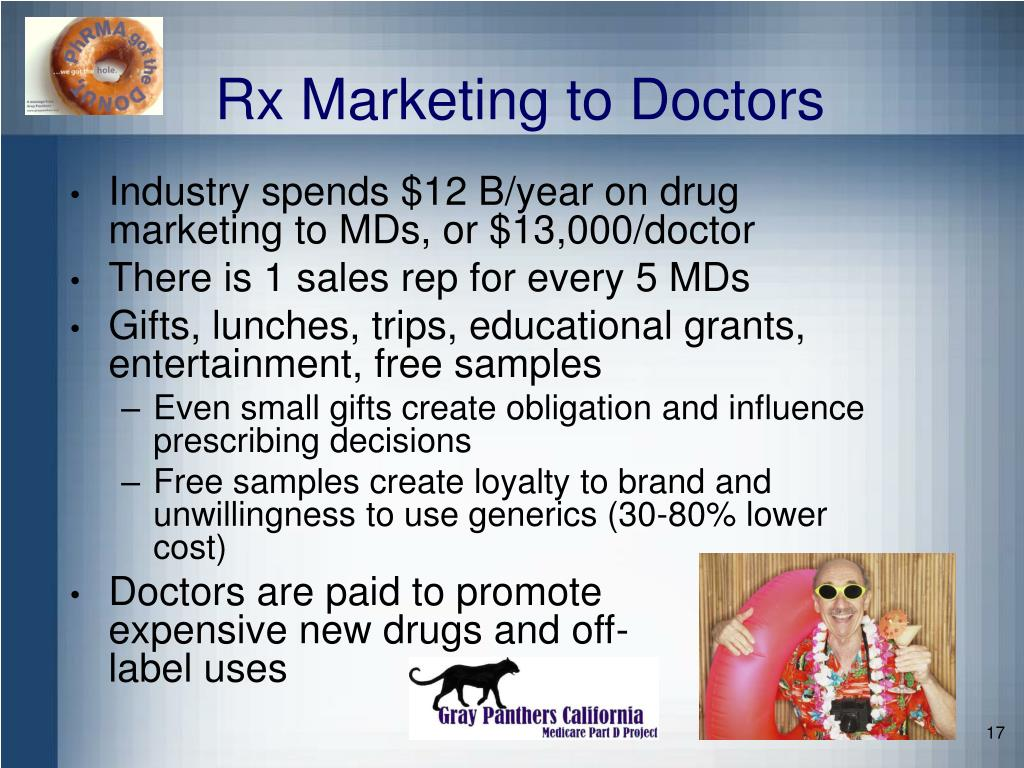 Rx Marketing to Doctors