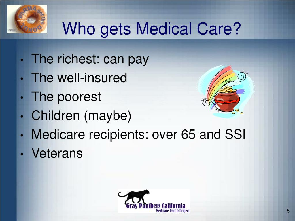 Who gets Medical Care?