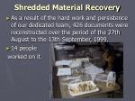 shredded material recovery27