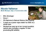 nicola vallance media manager dept of conservation nz