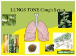 lungs tone cough syrup