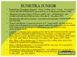 sunetra junior