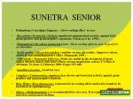 sunetra senior