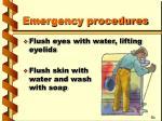 emergency procedures20