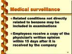 medical surveillance33