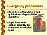 emergency procedures24