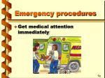 emergency procedures27