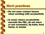 work practices18