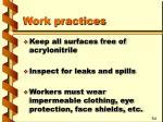 work practices19