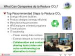what can companies do to reduce co 2