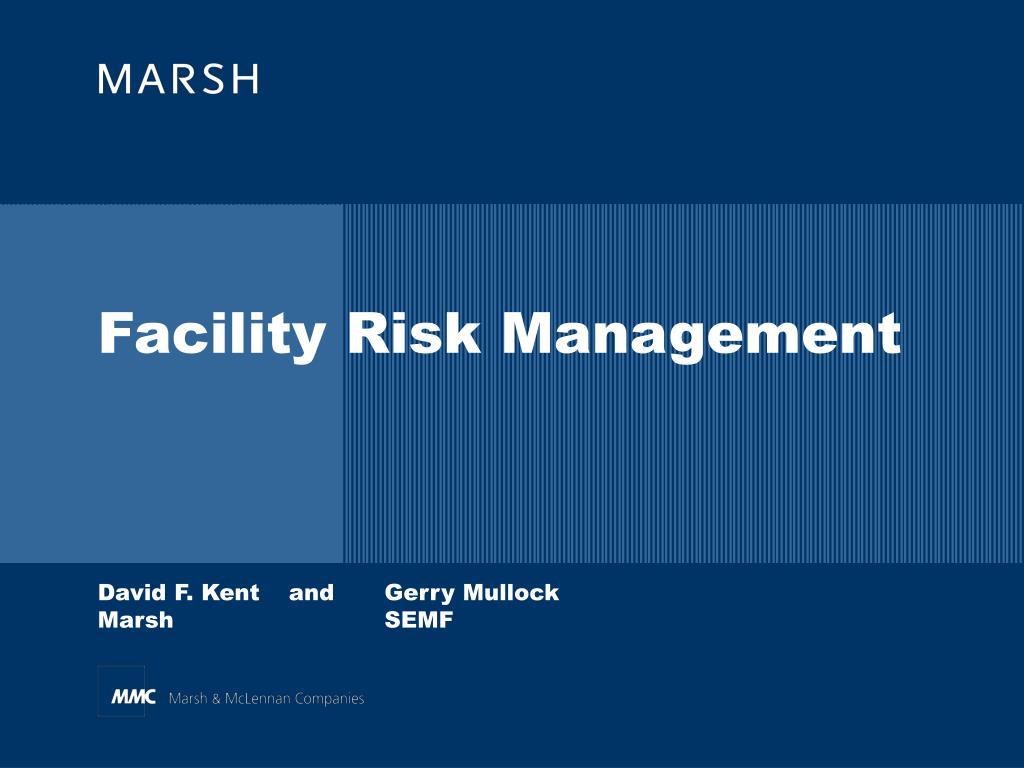 facility risk management l.