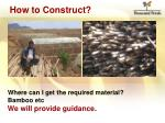 how to construct5