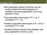 population cycles38