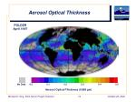 aerosol optical thickness2