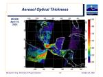 aerosol optical thickness4