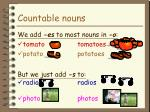 countable nouns8