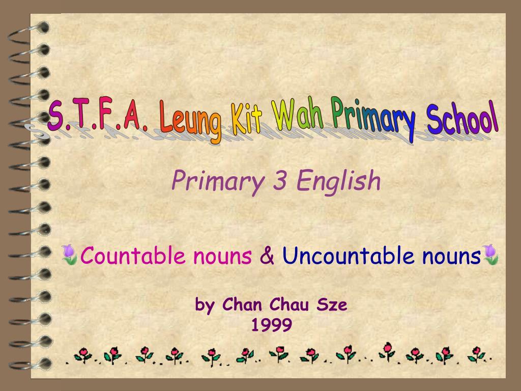 primary 3 english l.