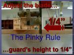 adjust the blade
