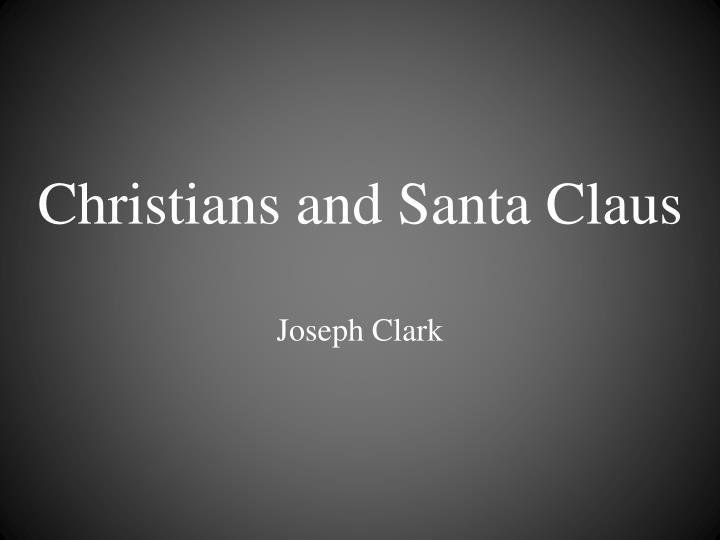 christians and santa claus n.