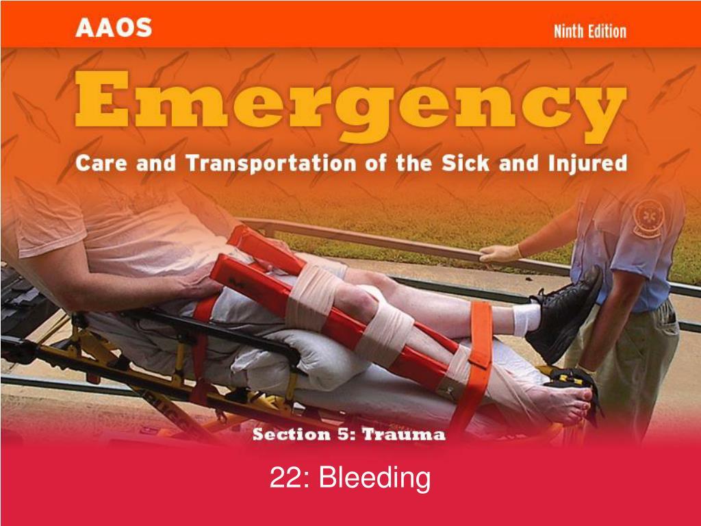 22 bleeding l.