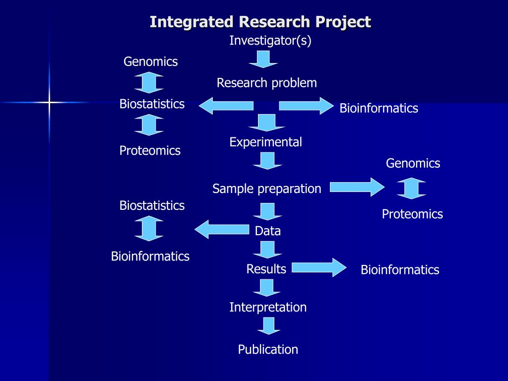 Integrated Research Project