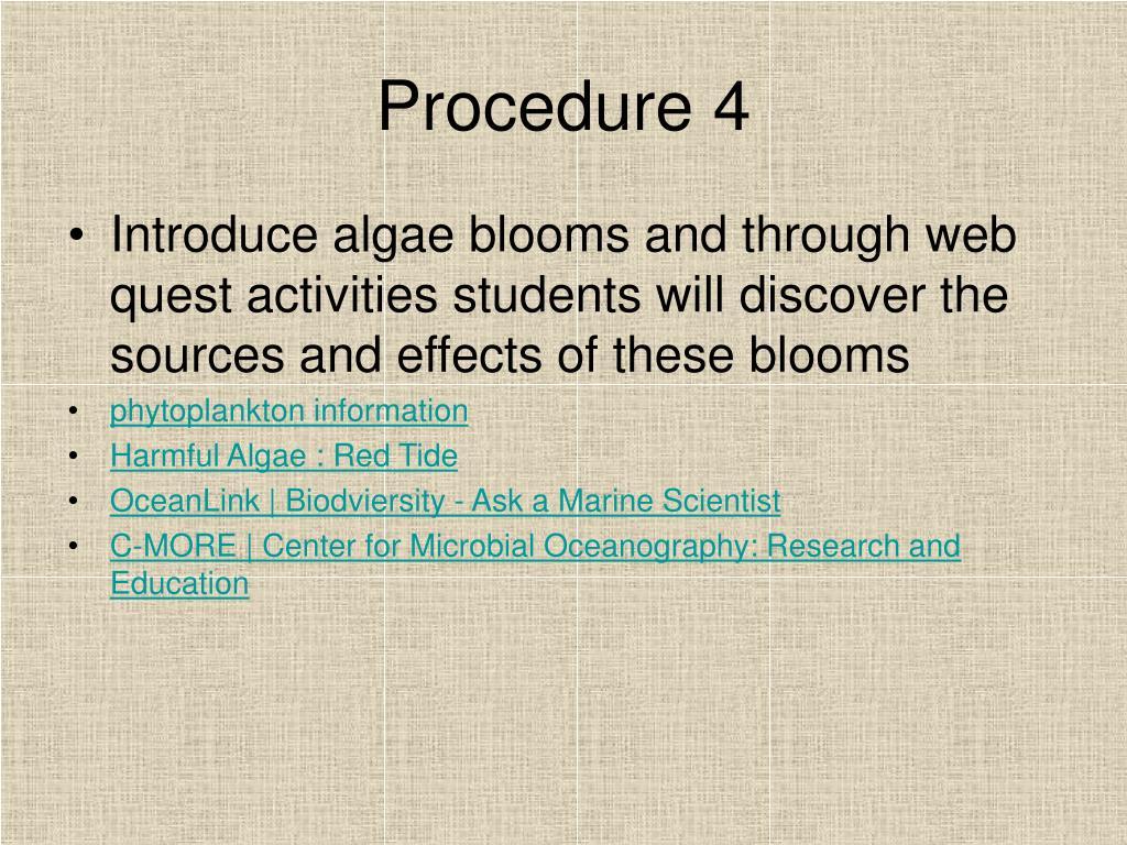 Procedure 4