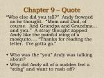 chapter 9 quote