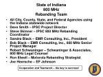 state of indiana 800 mhz rebanding team