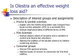 is olestra an effective weight loss aid21
