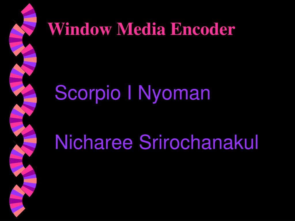 window media encoder l.