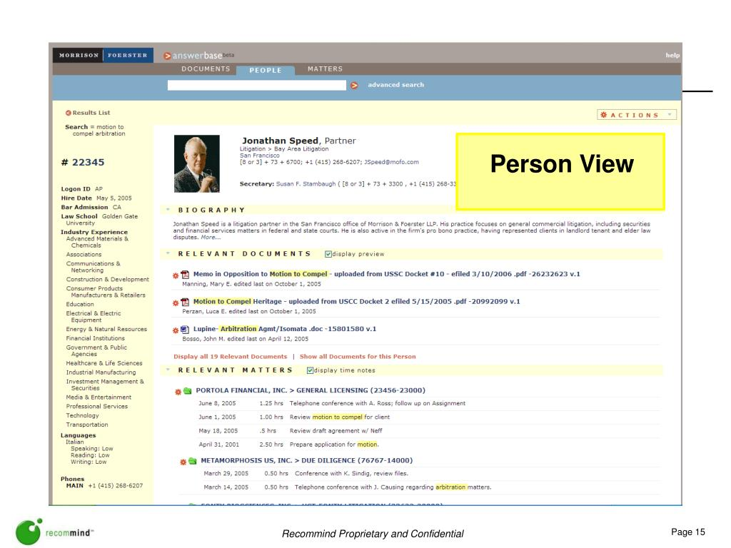 Person View
