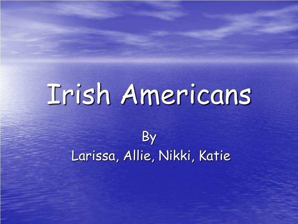 irish americans l.