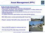 asset management ppv